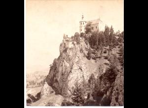 AK-2185/ Freystein bei Leoben Steiermark Stereofoto v Alois Beer ~ 1900
