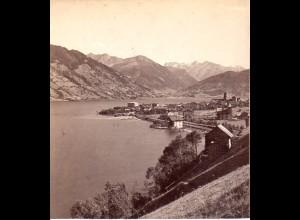 AK-2182/ Zell am see von Nord Salzburg Stereofoto v Alois Beer ~ 1900