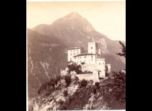 AK-2180/ Schloß Weissenstein Tirol Stereofoto v Alois Beer ~ 1900