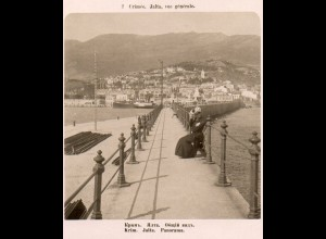 AK-2274/ Krim Jalta Rußland NPG Stereofoto ca.1905