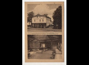 U7525/ Kotzem bei Neustadt Etablissement Lindenhof Schlesien Polen AK ca.1925