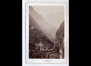 AK-2377/ Pass Lueg Salzburg Kabinettfoto Alois Beer ~ 1900