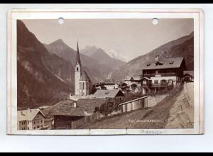 AK-2395/ Heiligenblut Kärnten Kabinettfoto Alois Beer ~ 1900