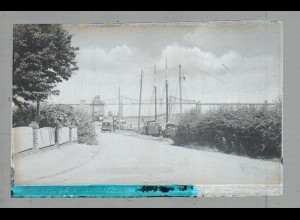 Neg4990/ Rendsburg bei der Hochbrücke altes Negativ 40er Jahre