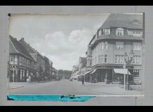 Neg4987/ Rendsburg Königstraße altes Negativ 40er Jahre