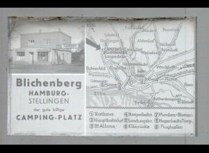 Neg4981/ Hamburg Stellingen Campinplatz Blichenberg altes Negativ 40er Jahre