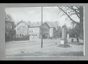 Neg4924/ Hamburg Niendorf Marktplatz altes Negativ 40er Jahre