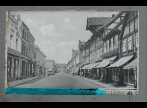 Neg5093/ Grabow Meckl. Marktstraße altes Negativ 40er Jahre