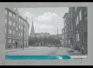 Neg5081/ Hamburg Bergedorf Vierländerstraße altes Negativ 40er Jahre