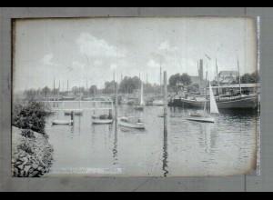 Neg5068/ Wedel Hafen altes Negativ 40er Jahre
