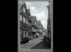 Neg5060/ Lauenburg Elbstraße altes Negativ 40er Jahre