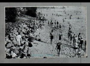Neg5020/ Wedel-Schulau Strandbad altes Negativ 40er Jahre