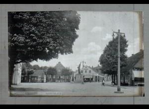 Neg5017/ Wedel Marktplatz altes Negativ 40er Jahre