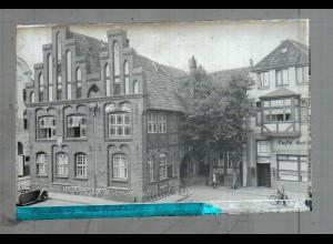 Neg5015/ Rendsburg Altes Rathaus altes Negativ 40er Jahre