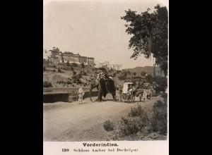 AK-2506/ Indien Schloß Amber b. Dscheipur Jaipur NPG Stereofoto ca.1905