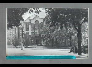 Neg5163/ Bad Oldesloe Oberrealschule altes Negativ 40/50er Jahre