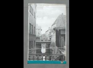 Neg5160/ Bad Oldesloe Bei der Mühlenbrücke altes Negativ 40/50er Jahre