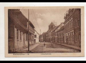 XX005405-239/ Grevesmühlen Lübschestraße AK ca.1925