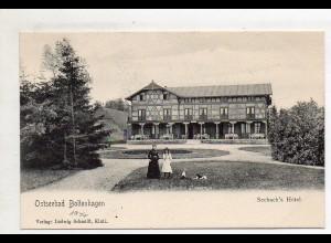 XX005418-239/ Ostseebad Boltenhagen Seebach`s Hotel AK 1904