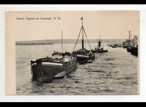 XX005538/ Wolga Schiffe Scenerie Rußland AK ca.1910 No. 22
