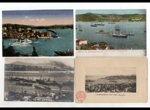 XX005919/ 4 x Constantinople Konstaninopel Türkei AK ca.1900-12