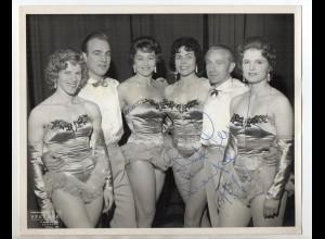 C3084/ Artisten Variete Foto mit Widmung 1960 Foto Speedak, Blackpool 25x20 cm