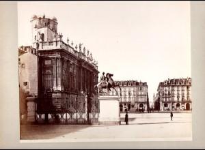 C2778/ Turin Torino Italien Foto Fotograf Sommer, 25 x 20 cm ca.1880
