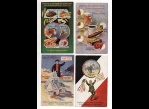 Y14291/ 9 x AK Volkswirtschaftliche Wahrheiten Bund der Landwirte ca.1910