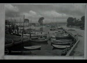Neg5285/ Ostseebad Niendorf Hafen altes Negativ 50/60er Jahre