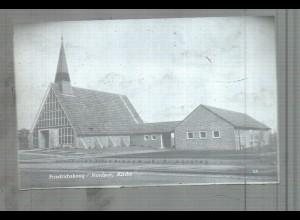 Neg5276/ Friedrichskoog Kirche altes Negativ 60er Jahre