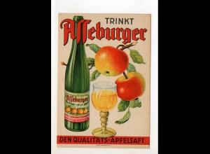 DP427/ Reklame Asseburger Apfelsaft Reinhold Goeze & Co. Wolfenbüttel ca.1935
