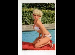 DP396/ Jayne Mansfield im Badeanzug Krüger AK ca. 1965