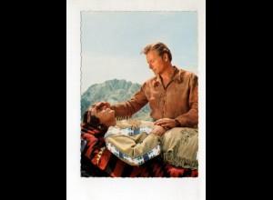 DP394/ Pierre Brice + Lex Barker Winnetou AK ca. 1965