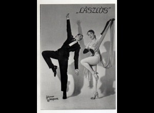 C3108/ Laszlos Modern Hungarian Dance Couple Tanzen Variete ca.1955