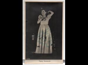 C3104/ Tipsy Konorah Parodistin Sängerin Foto mit Widmung 1948 Variete