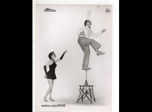 C3106/ Marion & Eddi Rose Akrobaten Variete Haus Vaterland, Foto Mahler