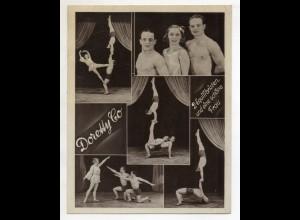 C3115/ Dorothy Co 2 Equilibristen und eine schöne Frau Varite ca.1935-40