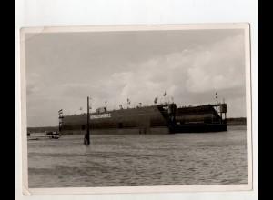 C3117/ Howaldtswerke 2 Schwimmdock Foto 17,5 x 13 cm ca.1955