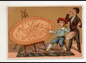 Y14427/ Biscuits Lefevre altes Kaufmannsbild Kunstmaler Kekse Kinder Litho