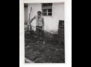 C3207/ Bauer Landwirtschaft Foto 23,5 x 16 cm ca. 1955