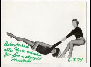 C3228/ Variete Artisten Tanzen Foto 1971 19 x 13,5 cm