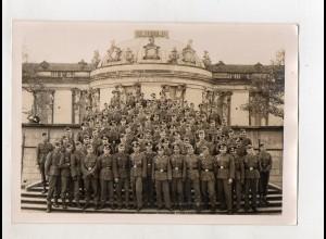 C3216/ Potsdam Sanssouci Soldaten-Gruppenfoto ca.1935-40 18 x 13 cm