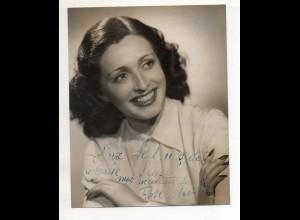 C3229/ Sängerin Rose Auril Foto mit Autogramm ca.1955