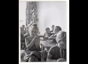 C3210/ Schule Schulklasse Kinder Foto 24 x 18 cm ca.1960