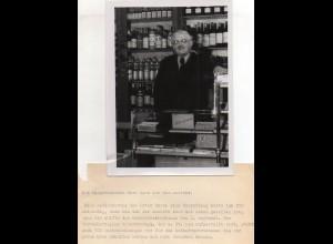 C3833/ Bürgermeister Matz v. Süderbrarup Pressefoto ca.1950 18 x 13 cm