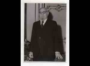 C3283/ Bundespräsident von Österreich Dr. Renner 1950 Pressefoto Foto