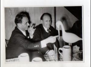 C3285/ Ratz Präsident des Landtags Schl. Holstein im Salvatorkeller Foto ca.1948