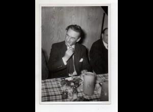 C4216/ Landtagspräsident Karl Ratz Schl.Holstein in München ca.1950 Foto 18x12,5