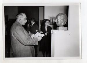 C3286/ München Oberbürgermeister Thomas Wimmer Foto ca.1950