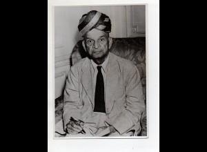 C3289/ Sir T.V. aus Indien, der Mann mit dem längsten Namen in London ca.1950